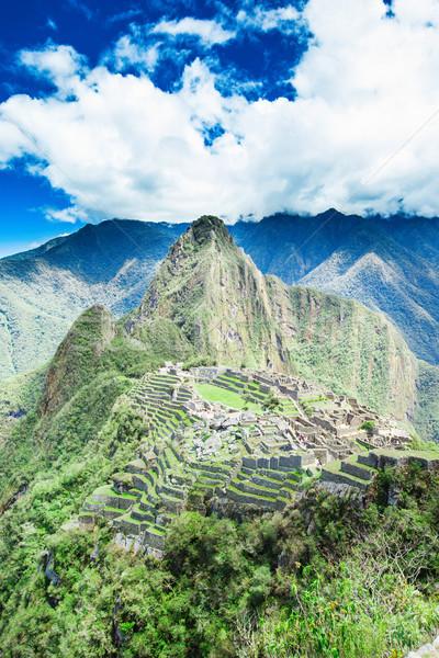 Stockfoto: Unesco · wereld · erfgoed · plaats · hemel · berg