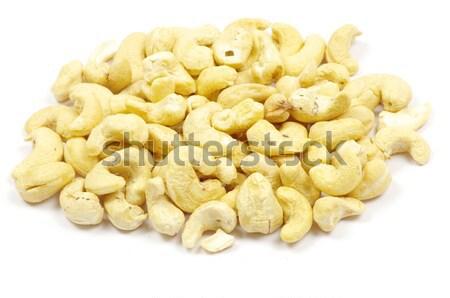 Cachou noten geïsoleerd witte voedsel Stockfoto © Pakhnyushchyy