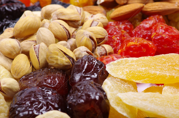 dried fruits Stock photo © Pakhnyushchyy