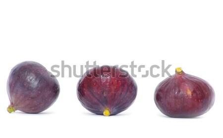 Friss izolált fehér étel gyümölcs zöld Stock fotó © Pakhnyushchyy