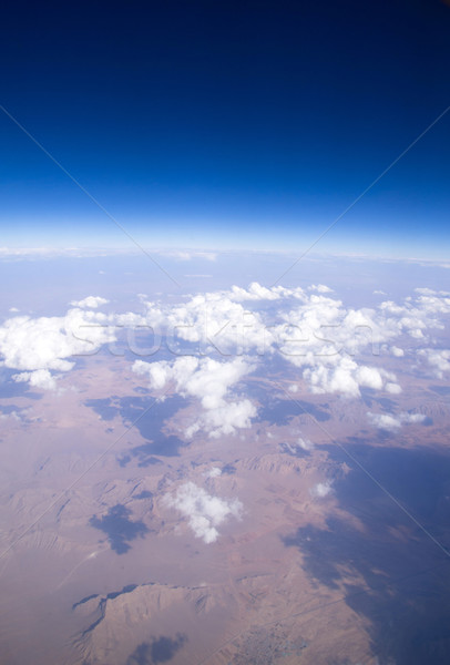 Hemel antenne wolken natuur schoonheid ruimte Stockfoto © Pakhnyushchyy