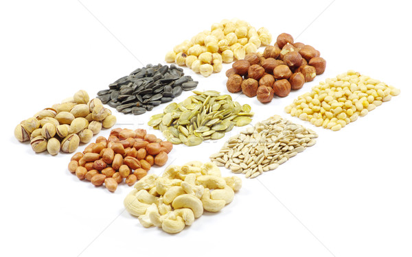 seeds and nuts  Stock photo © Pakhnyushchyy