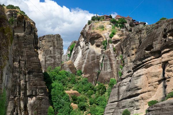 rock in Meteora, Greece Stock photo © Pakhnyushchyy