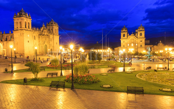 Cusco City Centre Peru South America Stock photo © Pakhnyushchyy