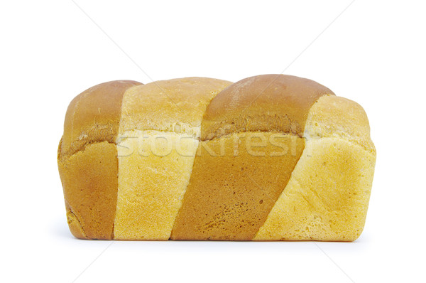 Pan pan aislado blanco cena desayuno Foto stock © Pakhnyushchyy