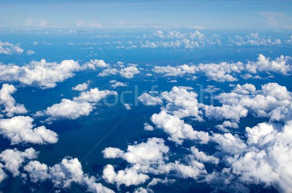 Cielo nubi bellezza spazio skyline Foto d'archivio © Pakhnyushchyy