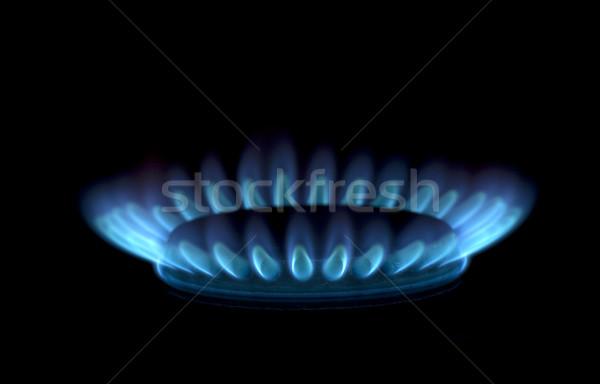 flames of gas Stock photo © Pakhnyushchyy