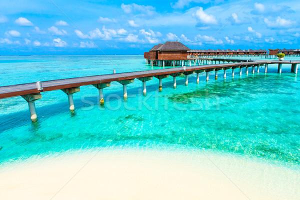 Stock photo: sea in Maldives
