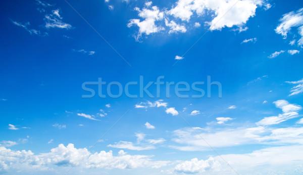 Cielo blu nubi bellezza spazio skyline colore Foto d'archivio © Pakhnyushchyy