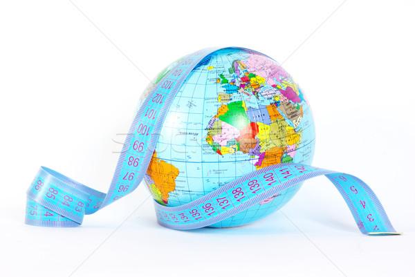 globe on white Stock photo © Pakhnyushchyy
