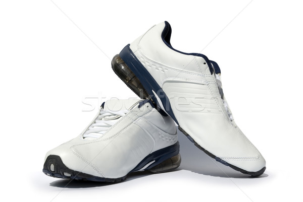 ランニングシューズ ペア 白 ジム 靴 訓練 ストックフォト © Pakhnyushchyy