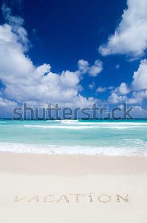 Stock photo:  sea