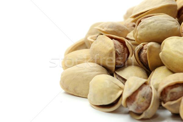 Aislado planta Shell comer tuerca saludable Foto stock © Pakhnyushchyy