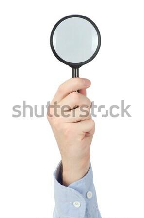 magnifying glass Stock photo © Pakhnyushchyy