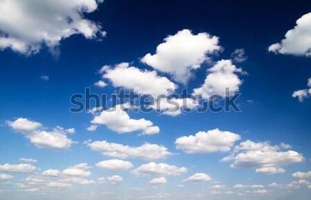 Hemel blauwe hemel wolk zomer Blauw Stockfoto © Pakhnyushchyy