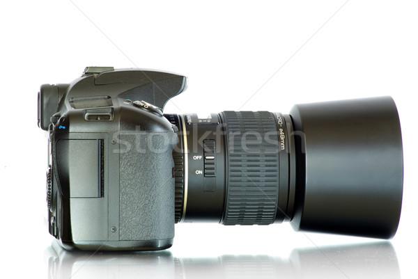 Digitális fotó kamera izolált fehér Stock fotó © Pakhnyushchyy