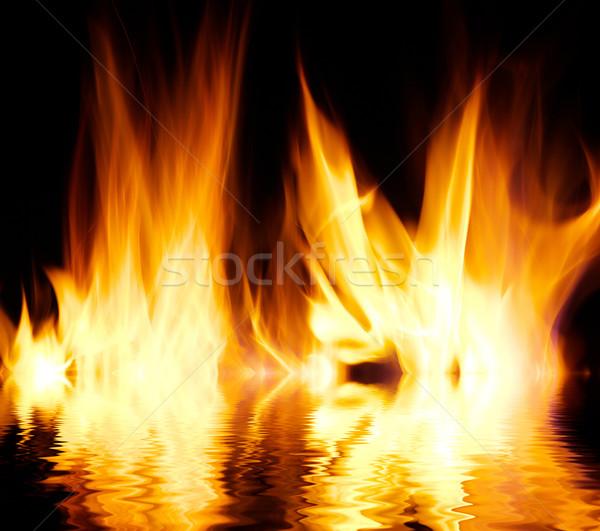 火災 いい 場所 背景 電源 パターン ストックフォト © Pakhnyushchyy