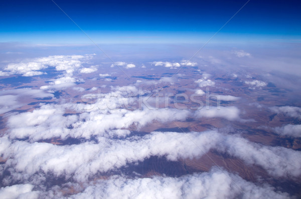 Aerial sky  Stock photo © Pakhnyushchyy