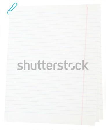 Kâğıt sayfa kitap arka plan kayıt Stok fotoğraf © Pakhnyushchyy