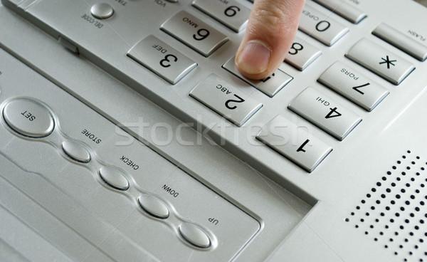 phone keypad Stock photo © Pakhnyushchyy
