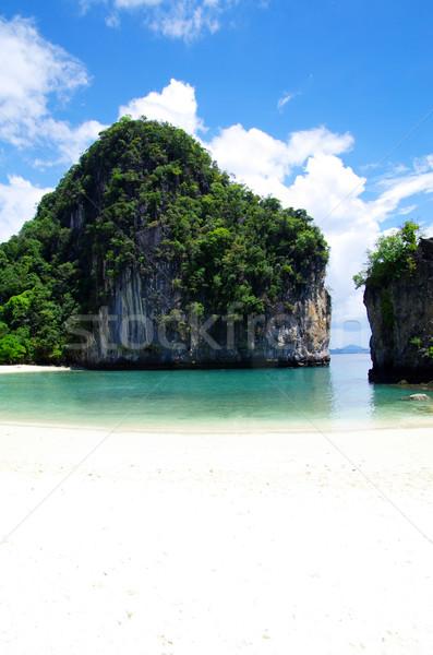 Stok fotoğraf: Deniz · krabi · kayalar · su · manzara · okyanus