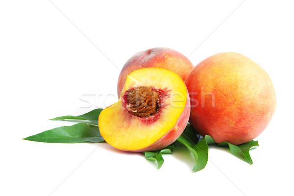 peach  Stock photo © Pakhnyushchyy