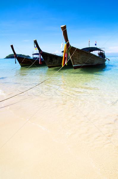 boats in sea  Stock photo © Pakhnyushchyy