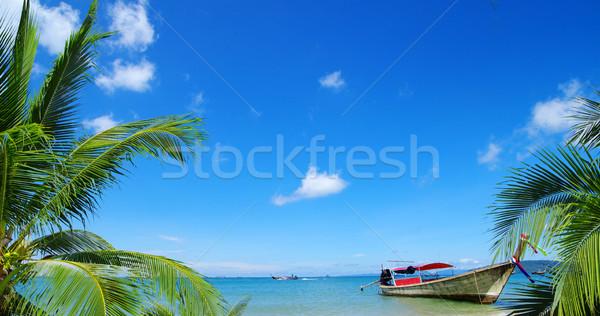 Andaman Sea Stock photo © Pakhnyushchyy