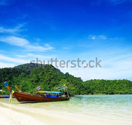 speed boat in sea Stock photo © Pakhnyushchyy