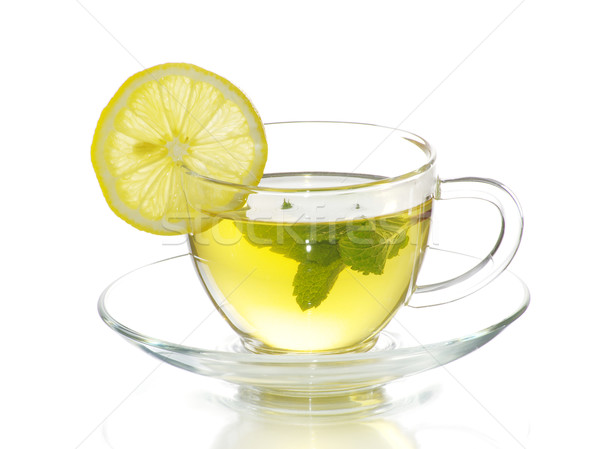 Stock photo: tea in cup