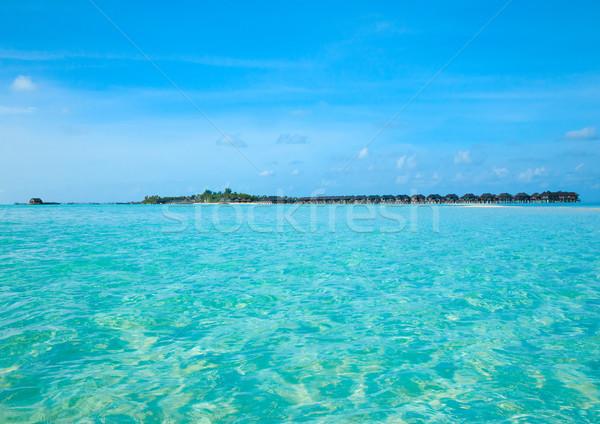 Stock photo: beach with  Maldives