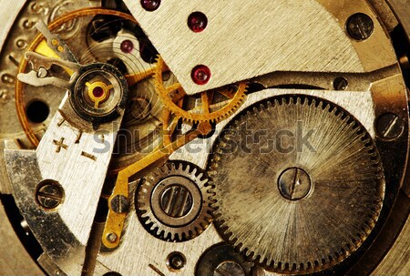clock mechanism Stock photo © Pakhnyushchyy