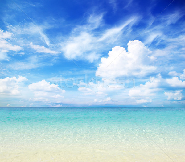 Spiaggia tropicali mare bella acqua sfondo Foto d'archivio © Pakhnyushchyy