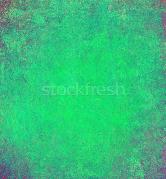 Yeşil soyut bağbozumu grunge texture kâğıt doku Stok fotoğraf © Pakhnyushchyy