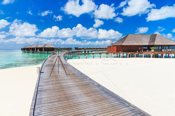 beach with Maldives Stock photo © Pakhnyushchyy
