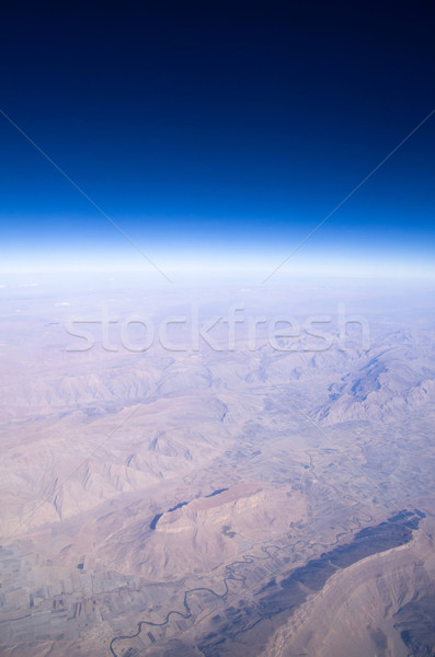 Cielo nubi luce spazio skyline Foto d'archivio © Pakhnyushchyy