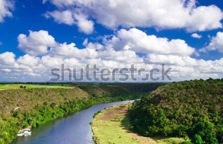 Chavon River Stock photo © Pakhnyushchyy