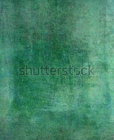 Zöld absztrakt klasszikus grunge textúra papír textúra Stock fotó © Pakhnyushchyy