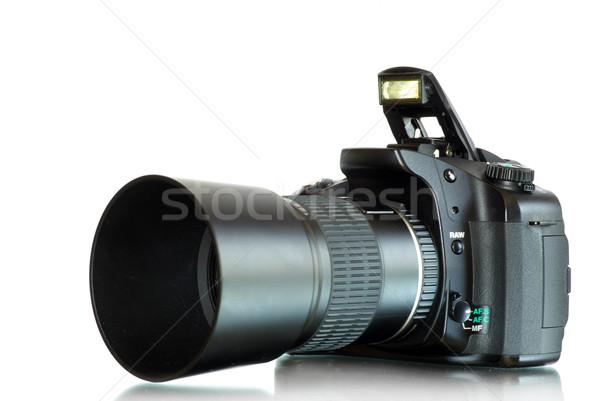 camera on  white   Stock photo © Pakhnyushchyy