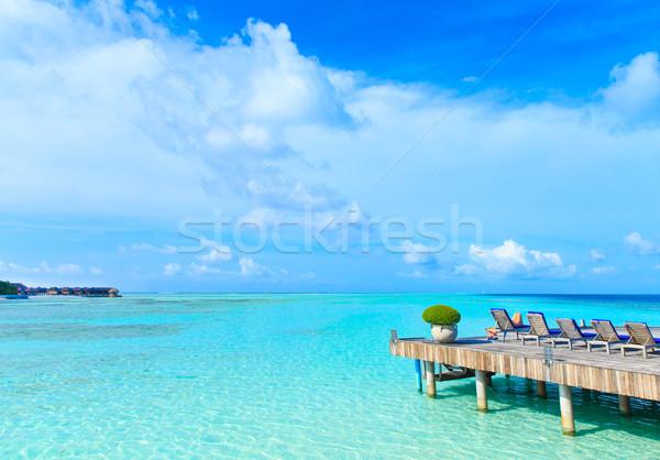 пляж воды природы пейзаж морем лет Сток-фото © Pakhnyushchyy
