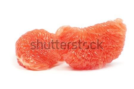 グレープフルーツ 孤立した 白 フルーツ 食べ 熱帯 ストックフォト © Pakhnyushchyy