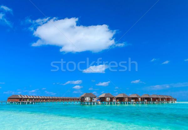 пляж воды небе природы морем лет Сток-фото © Pakhnyushchyy
