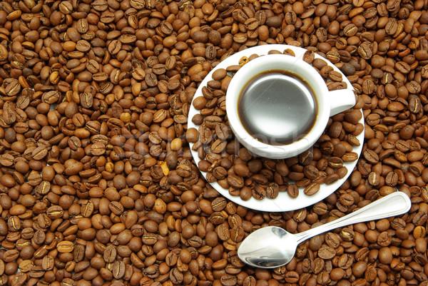 cup with coffee Stock photo © Pakhnyushchyy