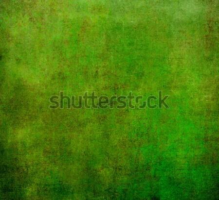 Foto stock: Verde · abstrato · velho · papel · de · parede · páscoa · água