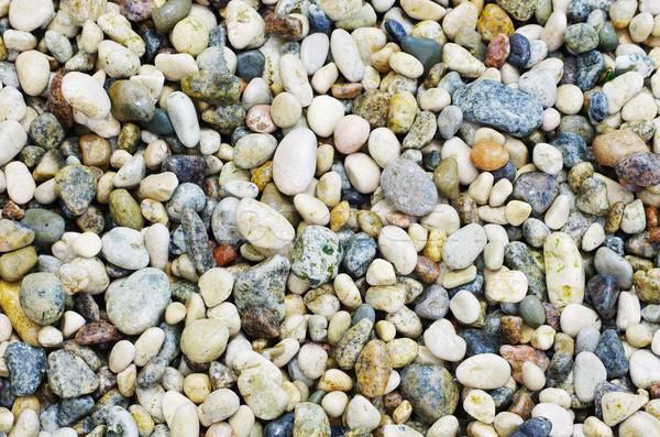 Kavics kövek nagyszerű tengerpart természet nyár Stock fotó © Pakhnyushchyy