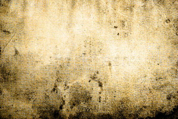 Stock photo: grunge background