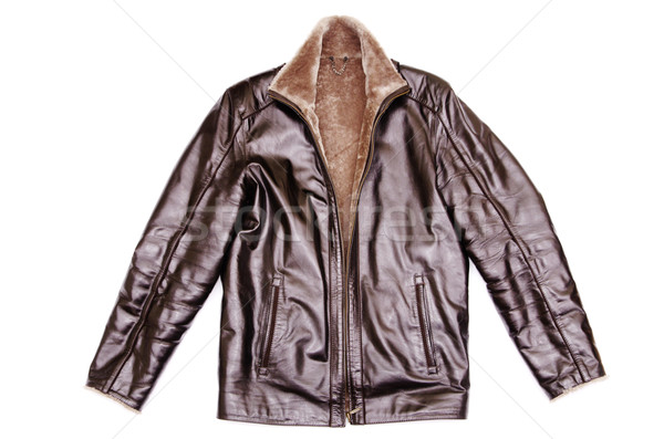 leather jacket  Stock photo © Pakhnyushchyy