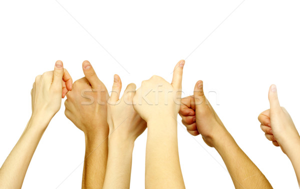 hands lifted up  Stock photo © Pakhnyushchyy