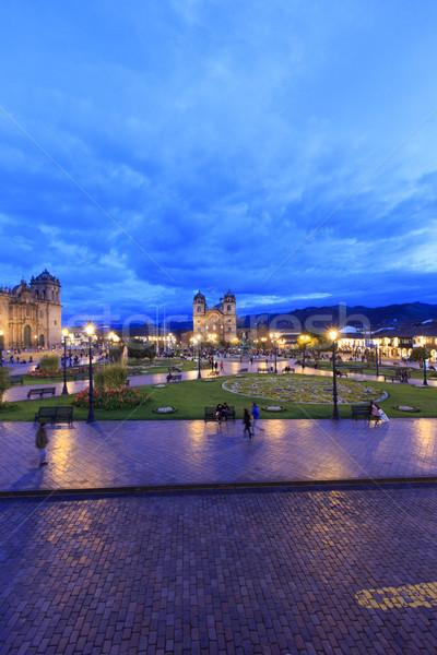 город центр Южной Америке Сток-фото © Pakhnyushchyy