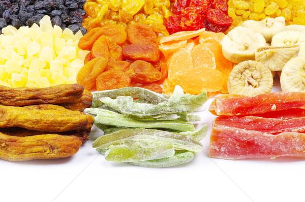 Stok fotoğraf: Kurutulmuş · meyve · yalıtılmış · beyaz · meyve · mango